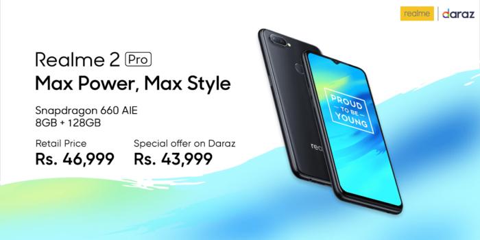 Realme tillkännager nya telefoner i Pakistan - Realme 2 Pro, Realme C1 12