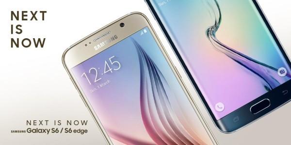 Galaxy S6 Edge och S6