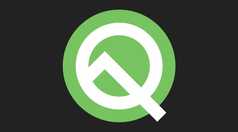Mörkt läge, Android Q