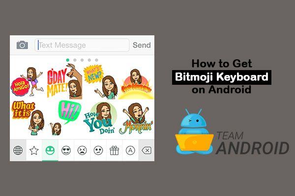 Så här får du Bitmoji-tangentbord på Android 11