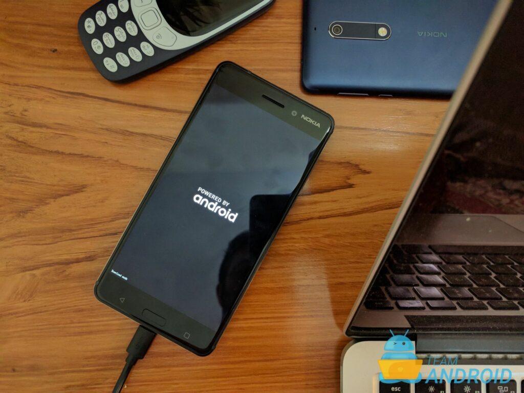 Nokia 6 - Hur man går in i Fastboot Mode / Bootloader Mode