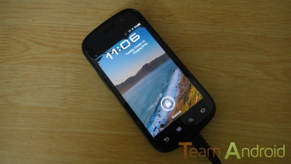 Nexus S Android 4.0 mjukvaruuppdatering