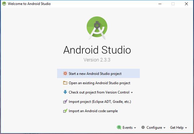 Android Studio 2.3.3