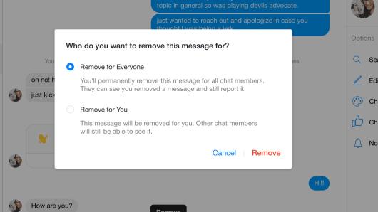 Så här tar du bort / avvisar meddelanden på Facebook Messenger 11