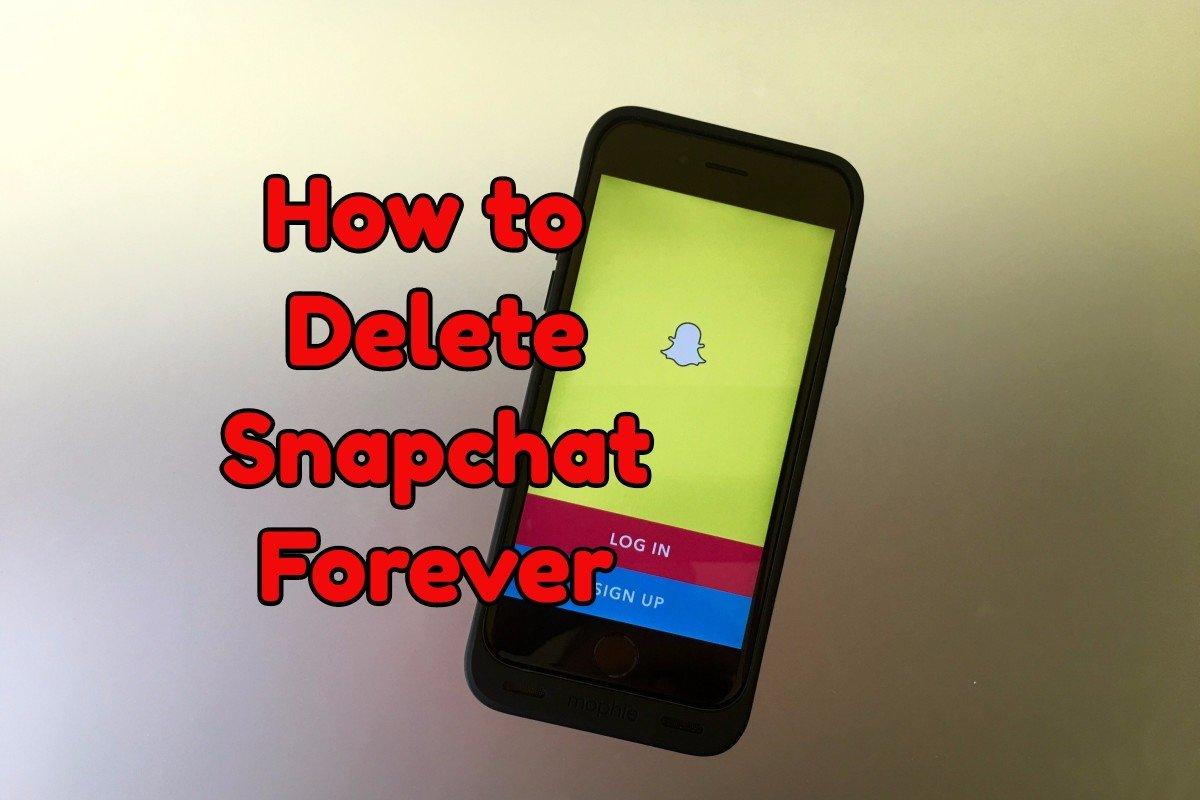 Lär dig hur du tar bort ditt Snapchat-konto.
