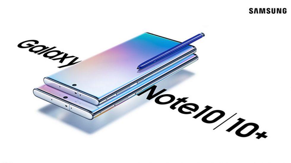 Samsung Galaxy Note 10-serien blir officiell vid Unpacked 2019-evenemanget