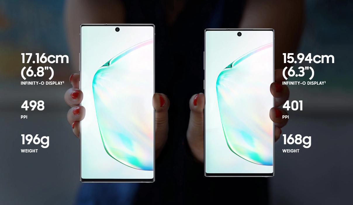 Samsung Galaxy Note 10 bakgrundsbild