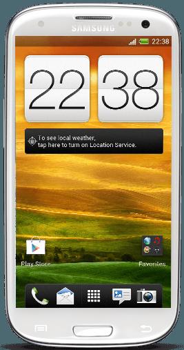 Samsung Galaxy S III Sense 4.0-port från HTC one X 10
