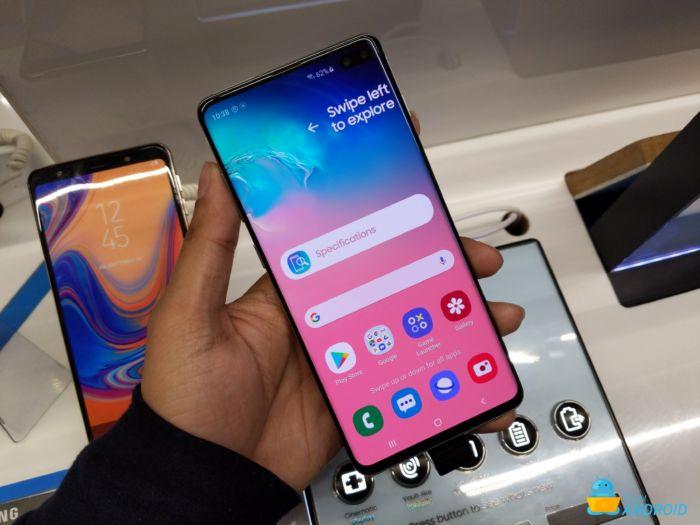 Samsung Galaxy S10 / S10 + / S10e One UI 2.0 Android 10 Beta börjar i Sydkorea 11