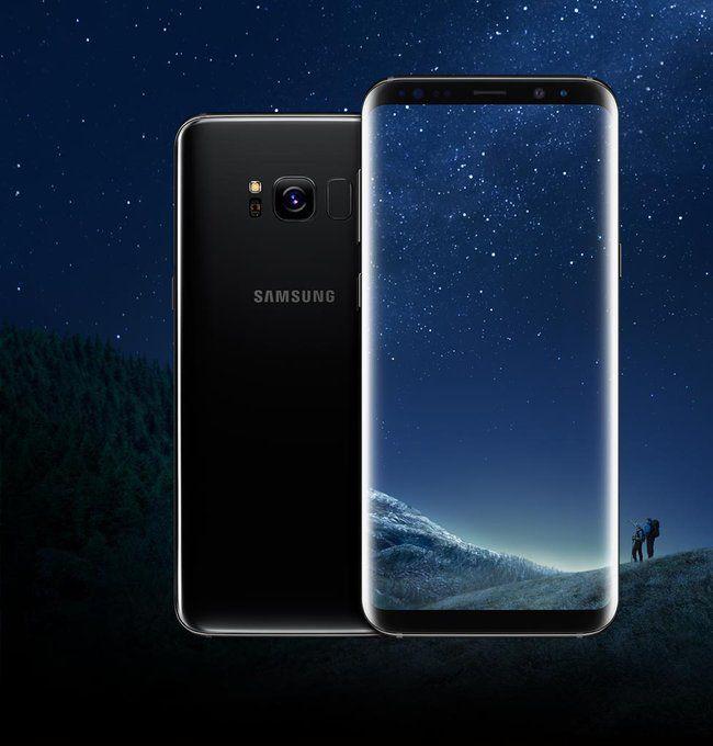 Galaxy S8 Color, Balck Sky