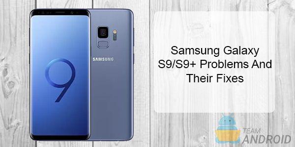 Samsung Galaxy S9-problem