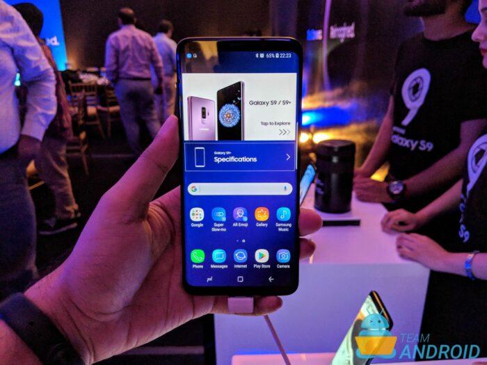 T-Mobile Galaxy S9, S9 + nattläge