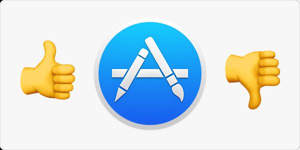 Mac App Store Fördelar och nackdelar