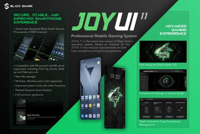Xiaomi BlackShark 2 Pro Android 10-uppdatering med JoyUI 11 släppt |  Ladda ner nu 11