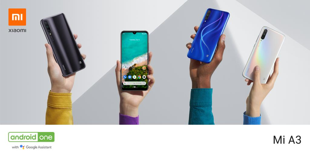 Xiaomi Mi A3 lanserades i Indien