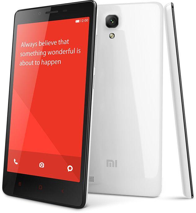 Xiaomi Redmi Note Prime-funktioner
