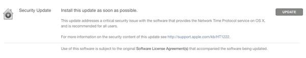 Manuell OS X-uppdatering