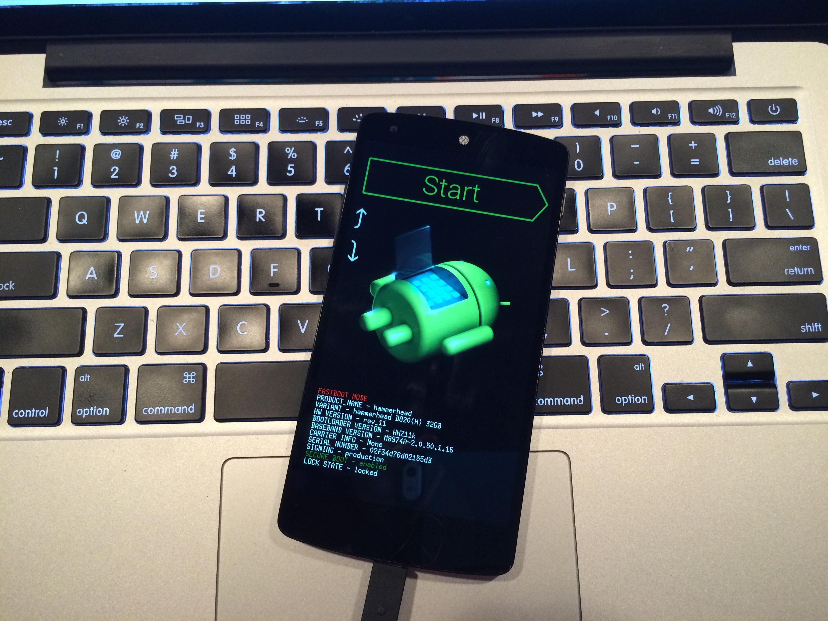 Du kan installera Android L Beta med hjälp av dessa anvisningar.