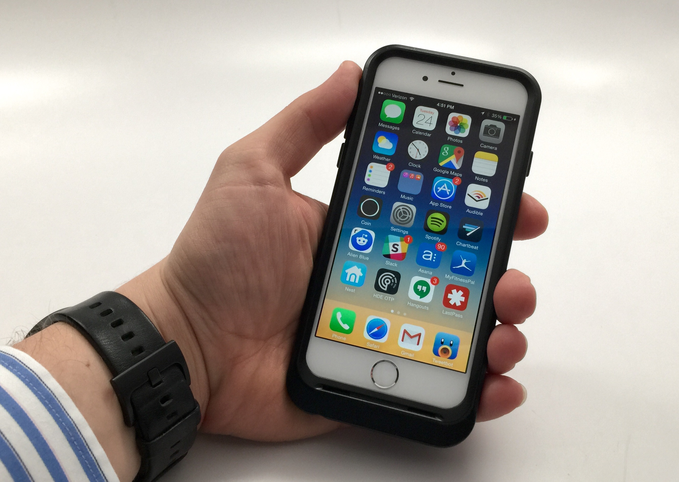 OtterBox Resurgence Review - iPhone 6 batterifodral - 2