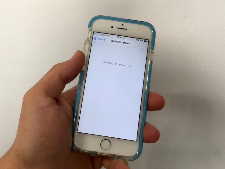 iPhone 6 iOS 9 intryck
