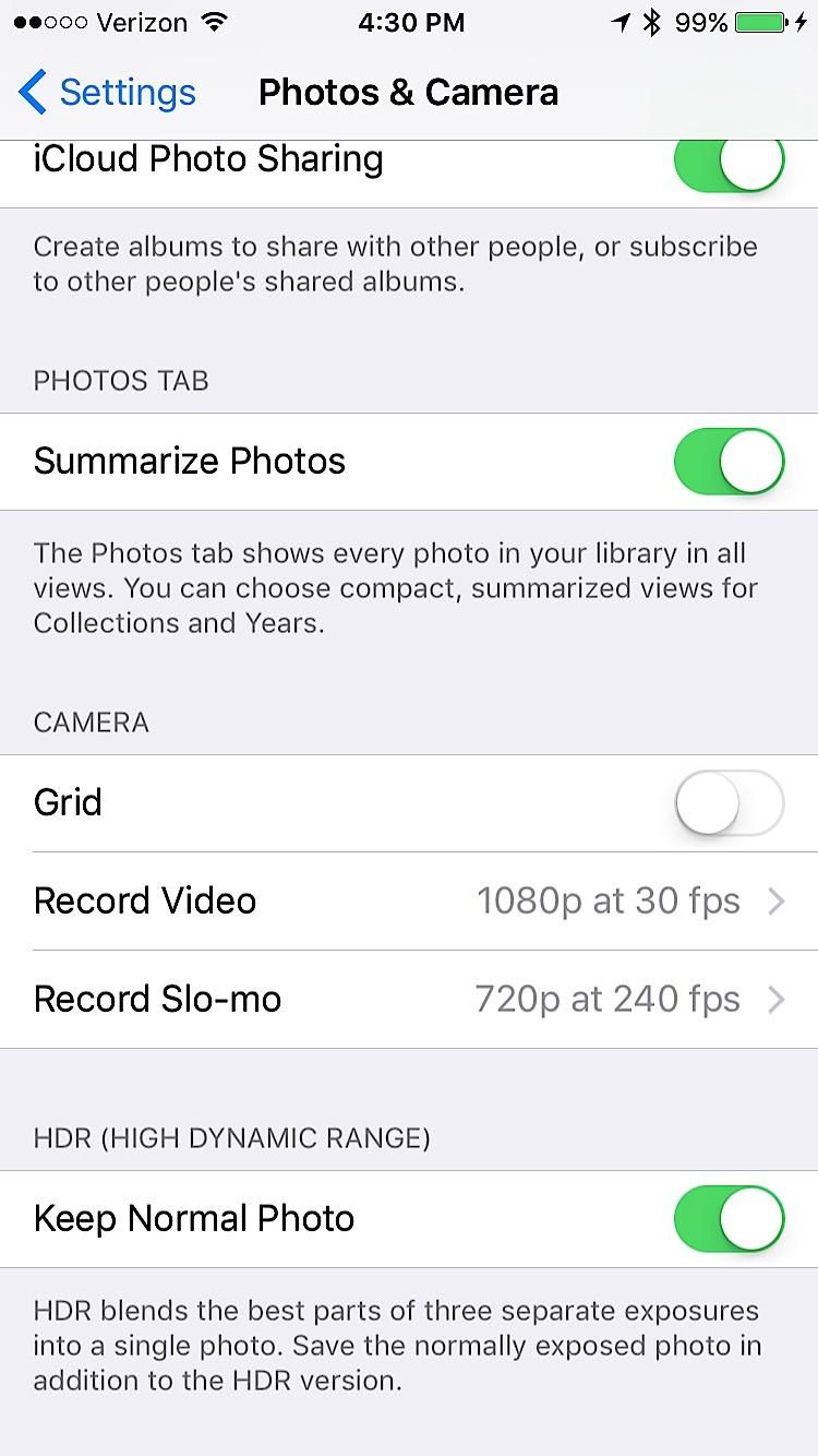 Inställningar för iOS 9 att ändra - 9