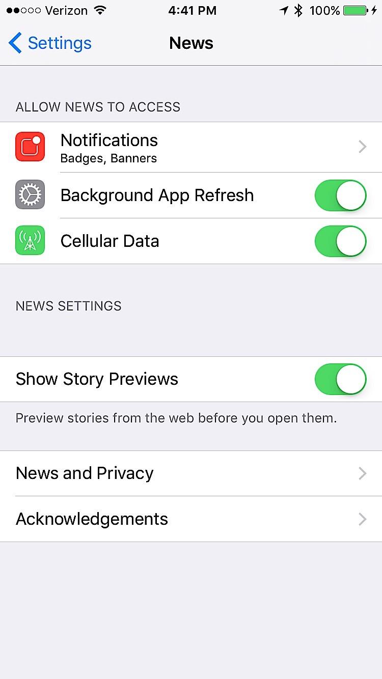 Inställningar för iOS 9 att ändra - 8