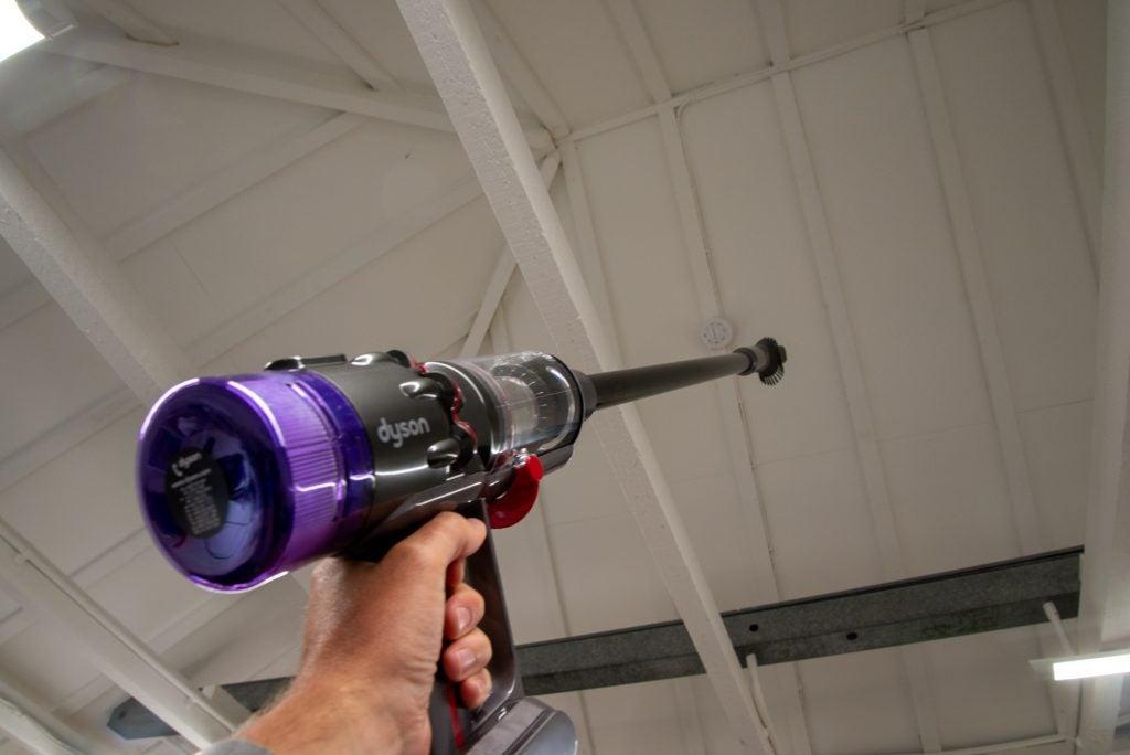 Dyson Micro 1,5 kg rengöring högt upp