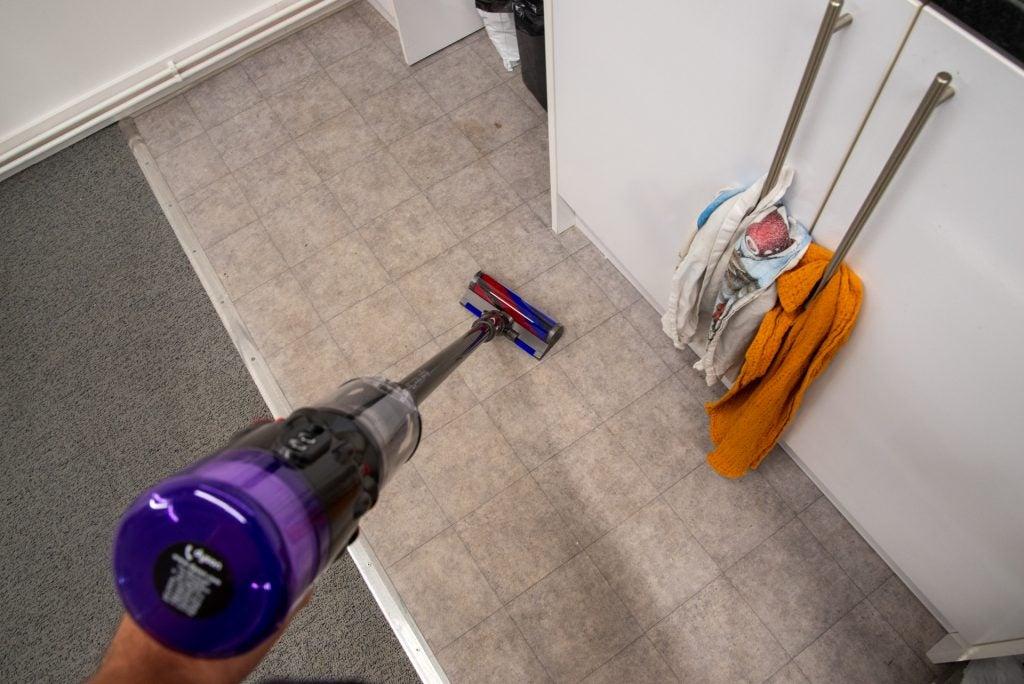 Dyson Micro 1,5 kg rengöring av hårda golv
