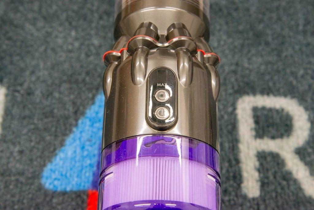 Dyson Micro 1,5 kg kontroller