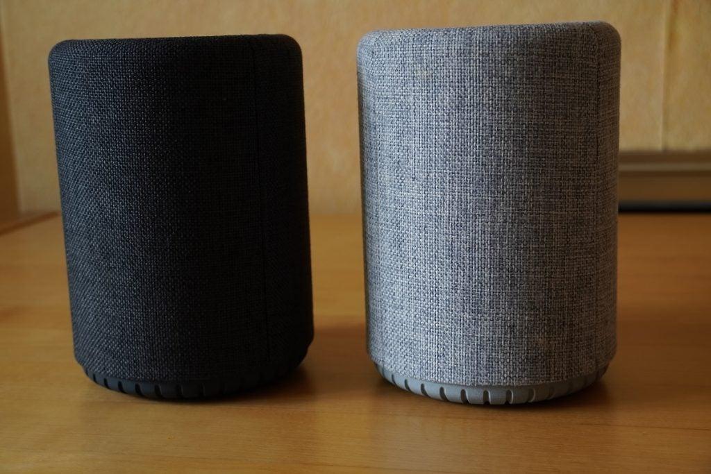 Audio Pro G10 tillsammans med den tidigare A10-modellen
