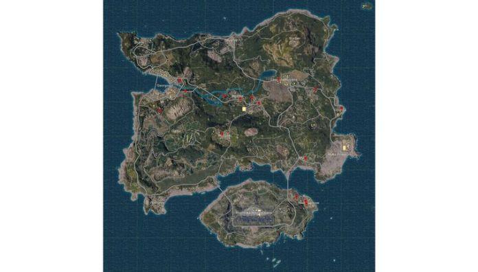 Titeln distribuerar 100 spelare över en ö;  och tvingar dem att elimineras