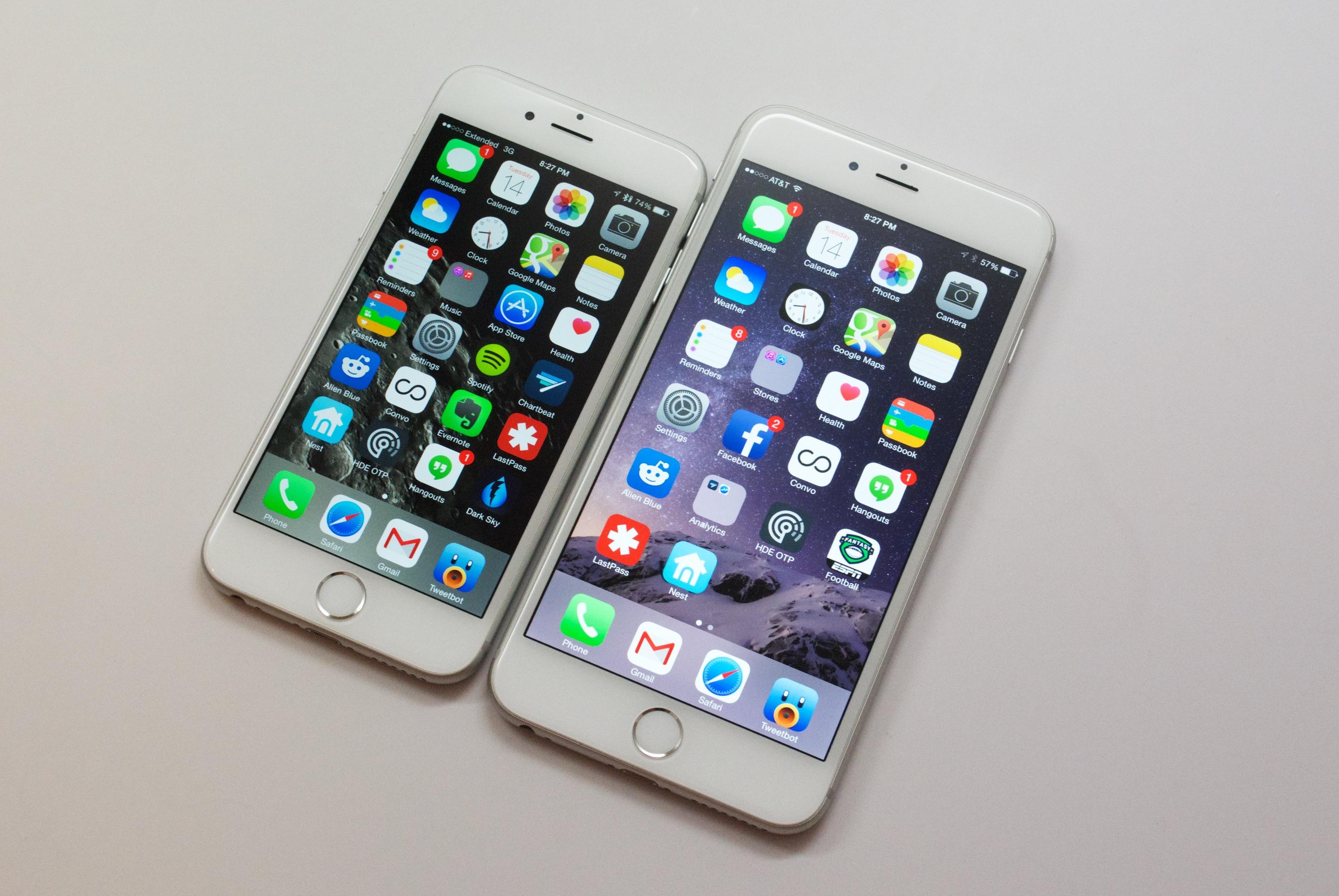 Uppdatering av iPhone 6 Plus iOS 8.4.1 - 9