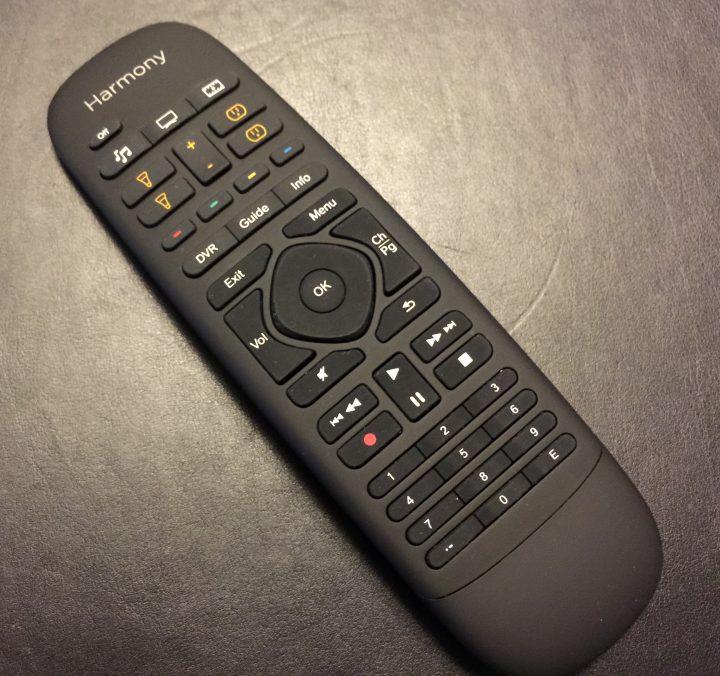 fjärrkontroll för Logitech Harmony Home Control