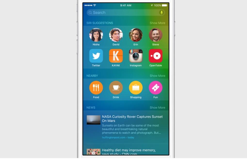 Gå med i iOS 9 beta för att testa de nya iOS 9-funktionerna.