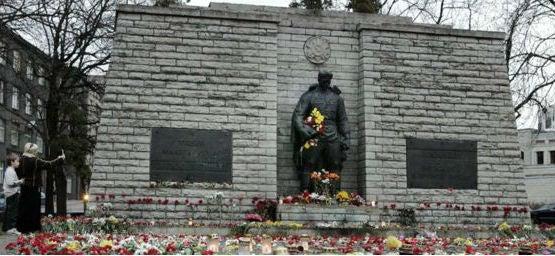 Sovjetiska krigsminnet Tallin