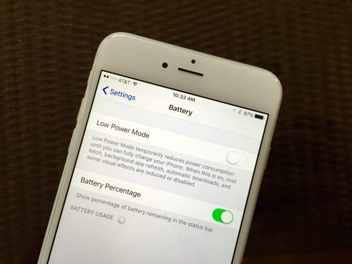 Bättre batterilivslängd för iPhone 6