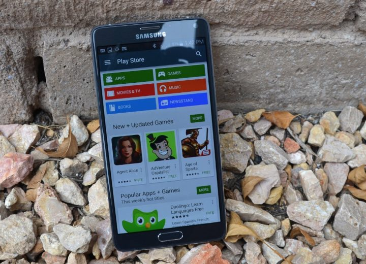 Rensa detaljer om Galaxy Note 5