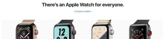 Apple Watch-annons - tech.co