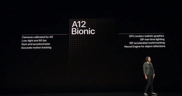 Specifikationer för iPhone XS