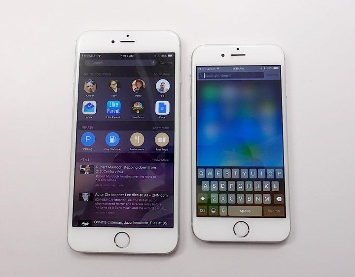 iOS 9 vs iOS 8 - Nyheter i iOS 9 - 12