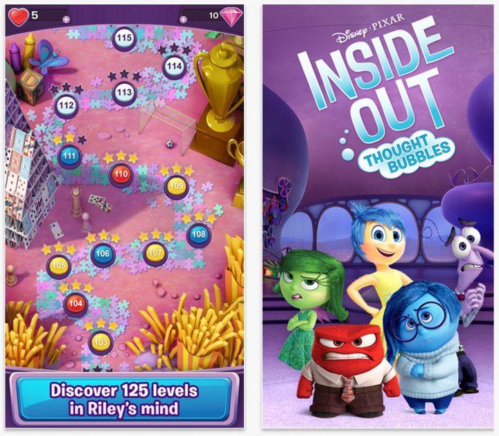 Vad du behöver veta om Inside Out Thought Bubbles-spelet.