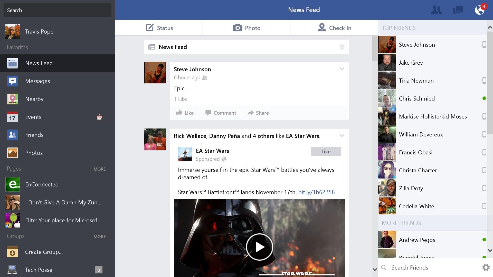 Så här använder du Facebook på Windows 8.1 (7)