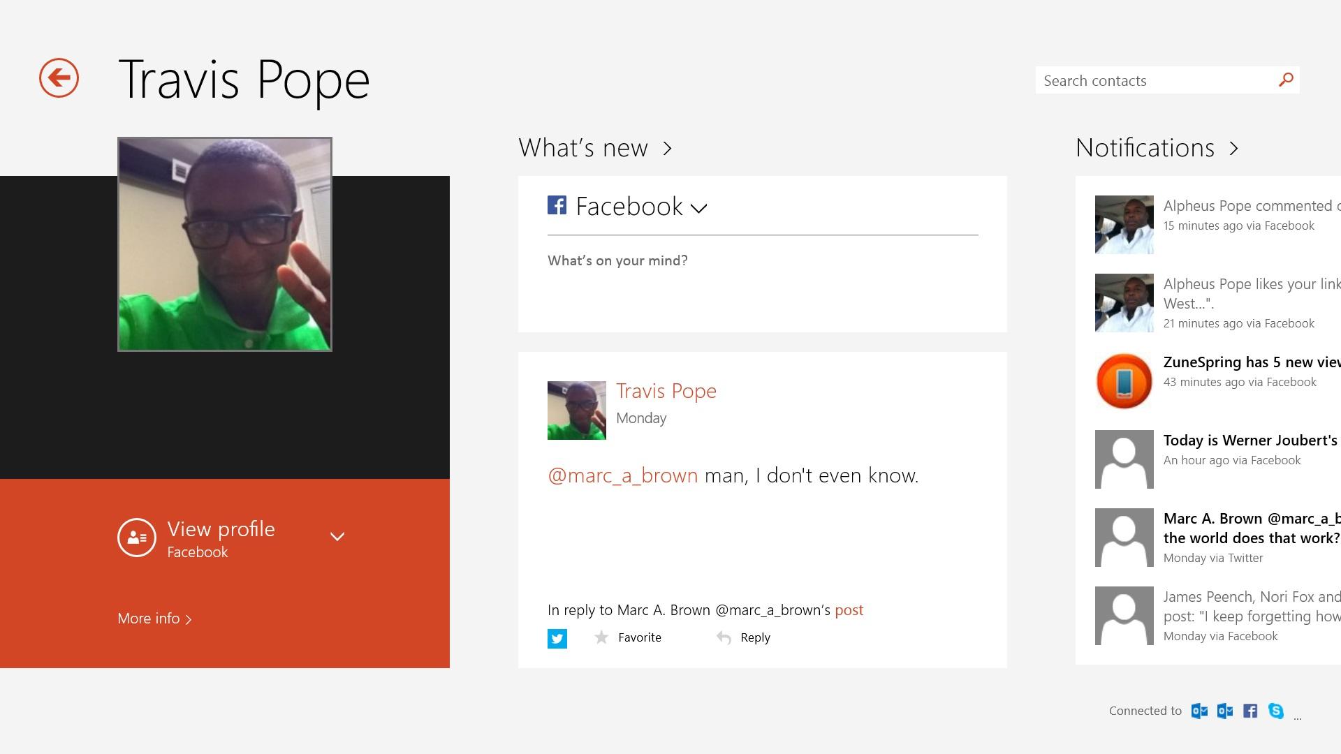 Så här använder du Facebook på Windows 8.1 (10)