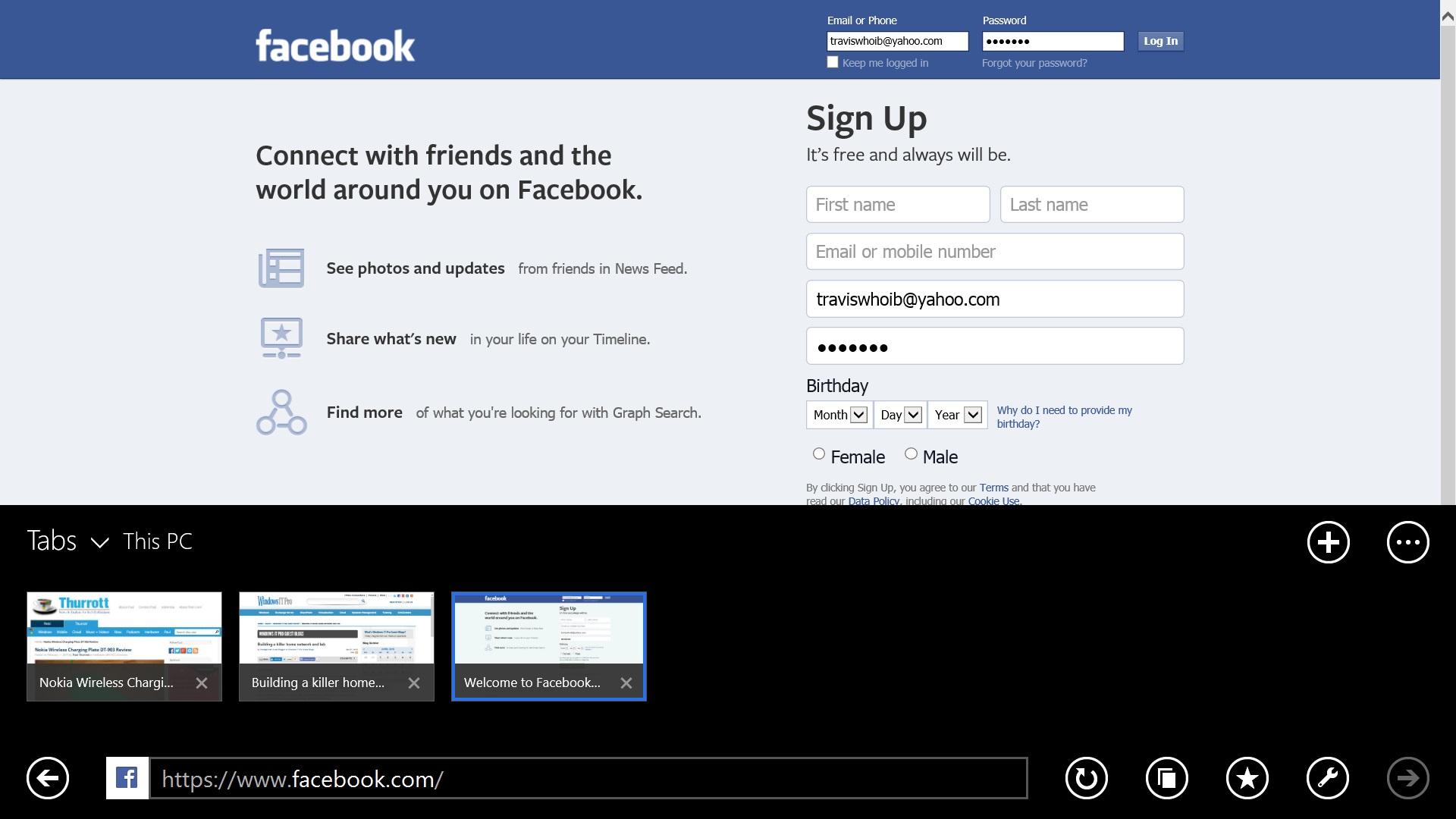 Så här använder du Facebook på Windows 8.1 (14)