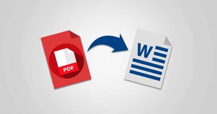 bästa pdf till word-omvandlaren