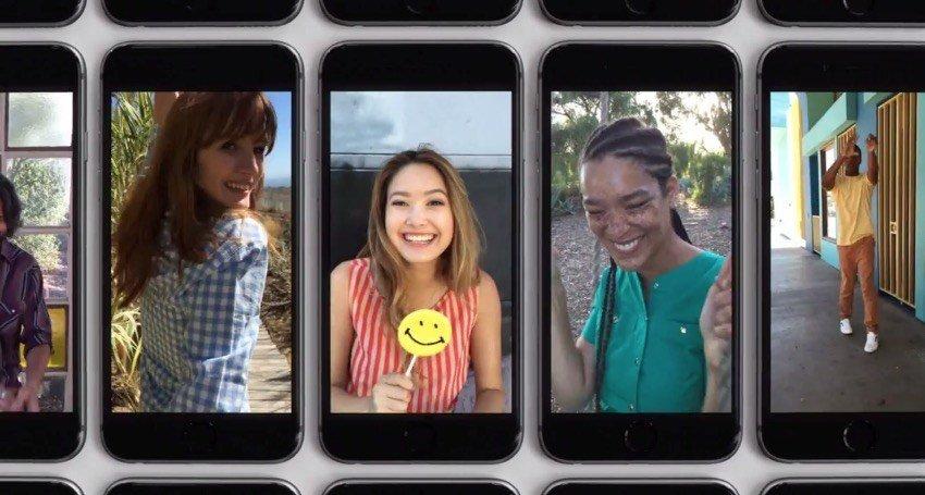 De nya iPhone-annonserna fokuserar på hur mycket människor älskar iPhone och fördelarna med att göra iPhone och iOS-programvaran.
