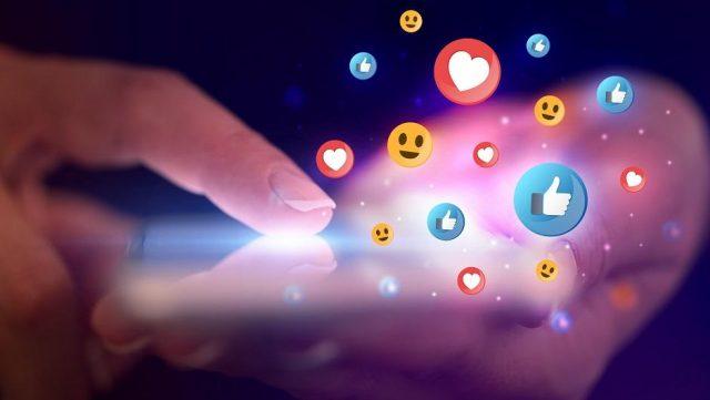 företag på sociala medier