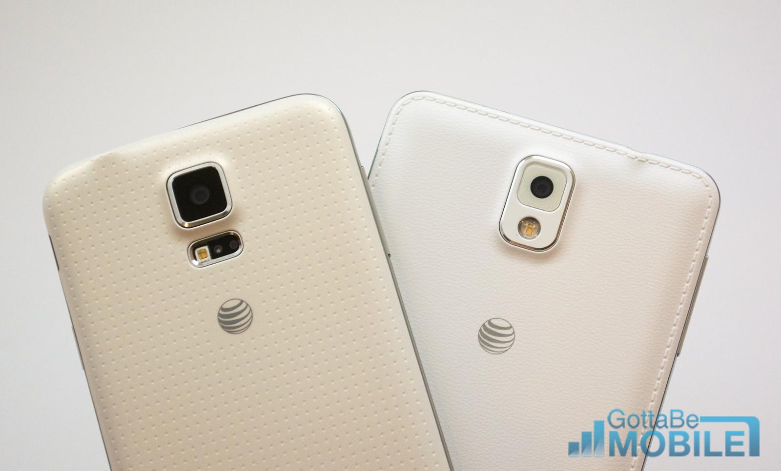 Samsung Galaxy S5 vs Galaxy Note 3 - Kameror