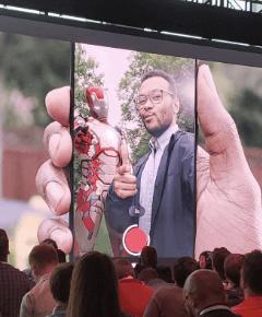 Google Pixel 3 AR-klistermärken