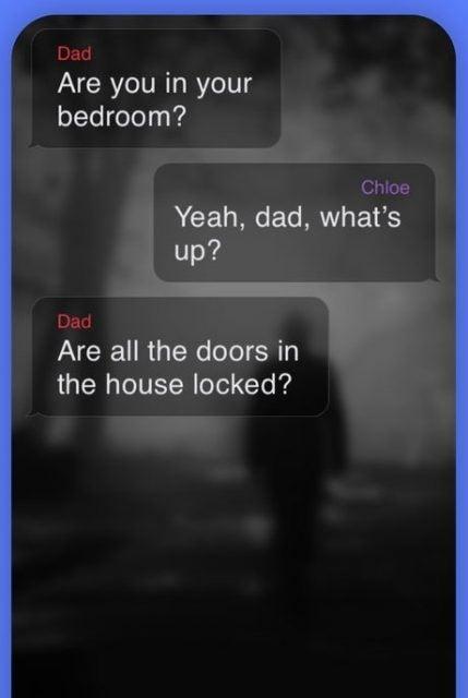 En skärmdump från appen Hooked